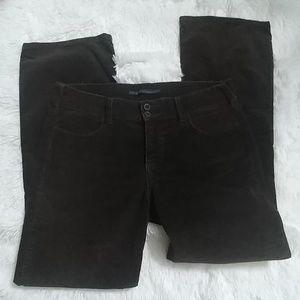 LEVI'S Brown Corduroy Slender Boot Cut Pants 10